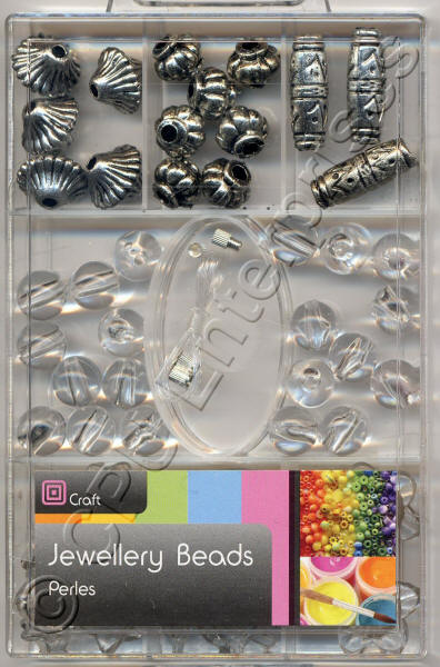 Large Beads - Clear