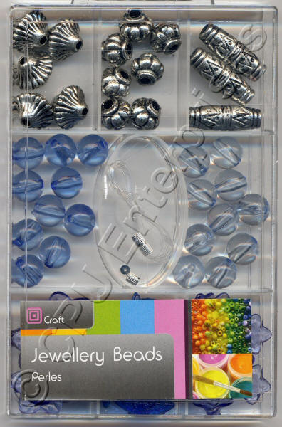 Large Beads - Blue