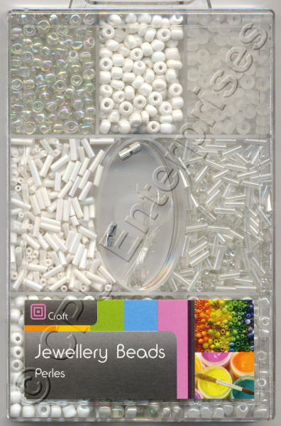 Small Beads - White