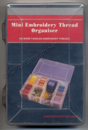 Mini Embroidery Thread Organiser