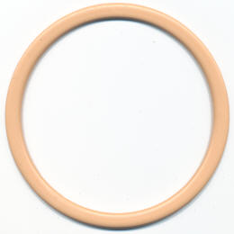 Beige Flat Ring Bag Handles