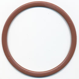 Brown Flat Ring Bag Handles