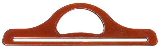 Amber Straight Bag Handles