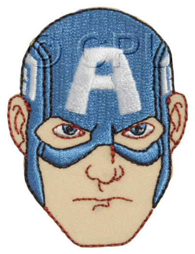 The Avengers Captain America Face