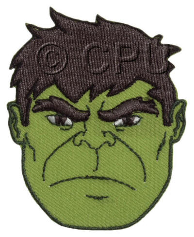 The Avengers Hulk Face