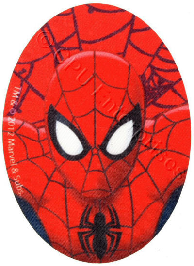 Spiderman Face Patch